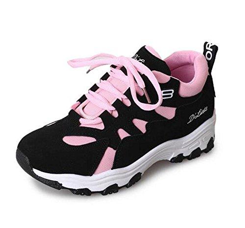 KUKI Trägt beiläufige Schuhe runde flache vordere Spitzeschuhe zur Schau 3