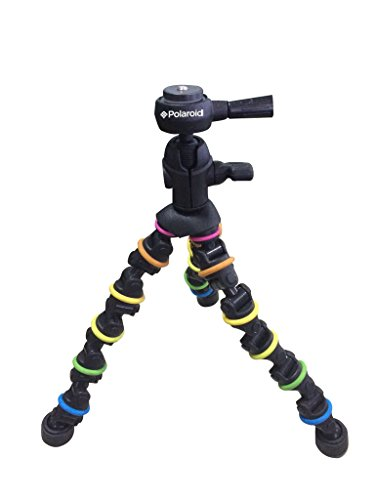 Polaroid Flexi Color Tripod Rotating