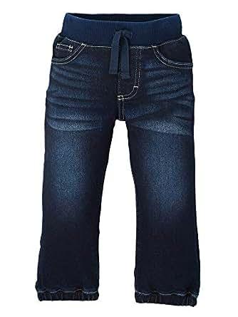 Wrangler Authentics Kids Toddler Boy's Knit Denim Pull On Jean, Trinity Blue, 2T