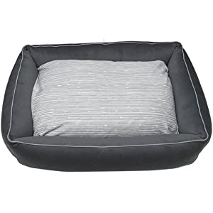 Only Natural Pet Sweet Dreams Large Gray Lounger