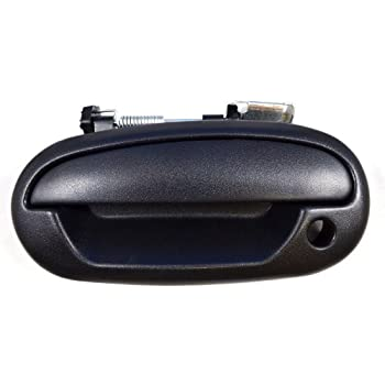 for Ford Focus Outside Exterior Outer Door Handle Driver Side Rear Textured