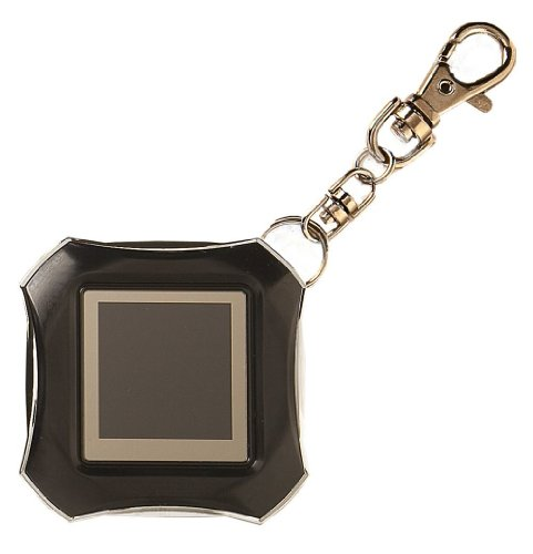 Digital Photo Key Chain Glossy Black Philips 1.5 LCD Display