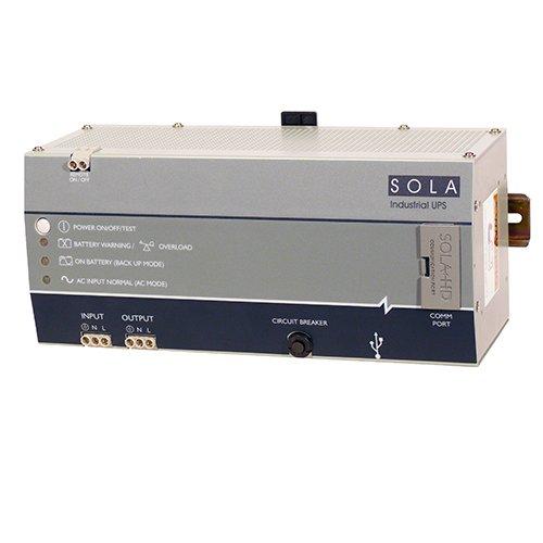 SolaHD SDU 850A DIN Rail AC UPS, 510W, 850 VA, 120V AC