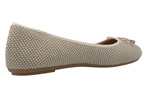 Fitters Chaussures, Ballerine Donna Beige Beige