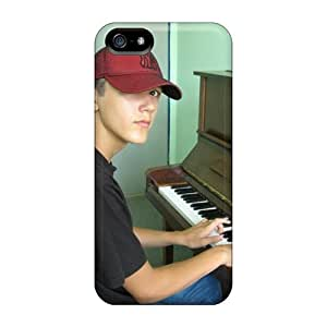 High Quality Hard Cell-phone Case For Iphone 5/5s (LkE22327CcWG) Custom Nice Playpiano Pattern