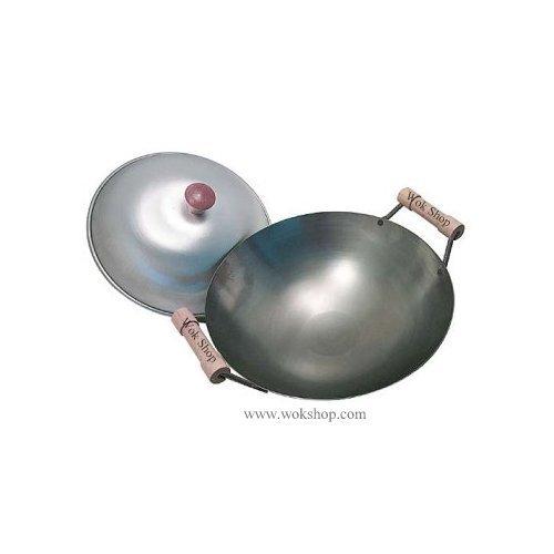 Steel wok round bottom me!