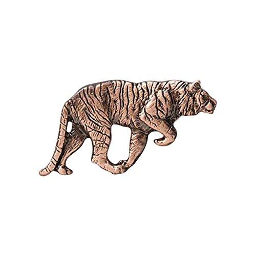 Creative Pewter Designs Tiger Stalking Full Body, Copper Plating Pin, MC109
