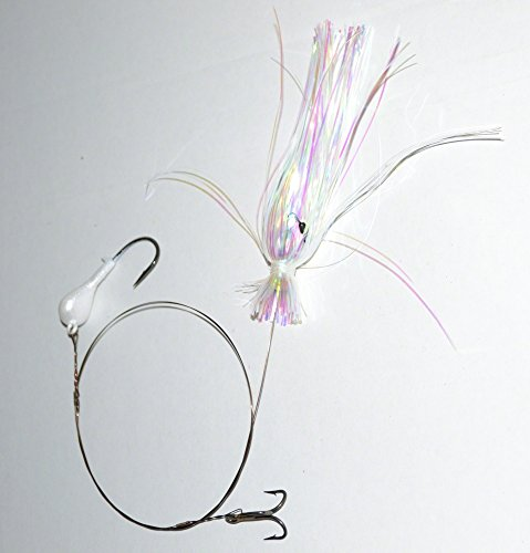 Blue Water Candy 33556 Dead Bait Rig, Silver Finish