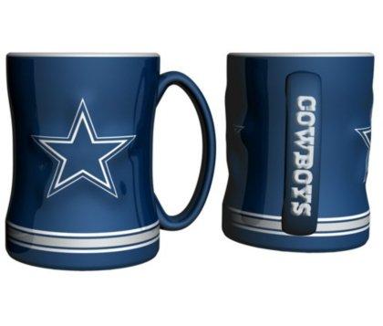 NFL Dallas Cowboys Boxed Relief Sculpted Mug