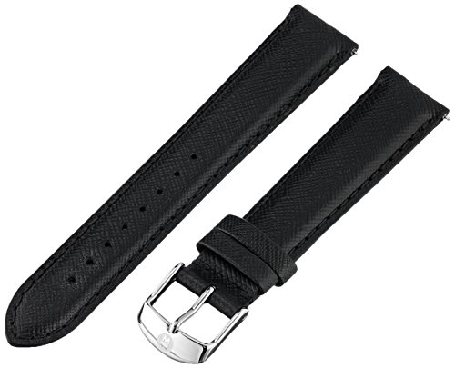 Michele Watches 18mm Leather Watch Strap - 2
