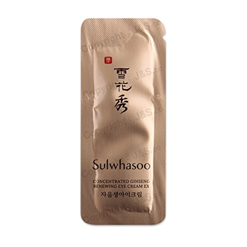 Intensive Vitalizing Eye - Sulwhasoo NEW Concentrated Ginseng Renewing Eye Cream EX 1ml x 30PCS