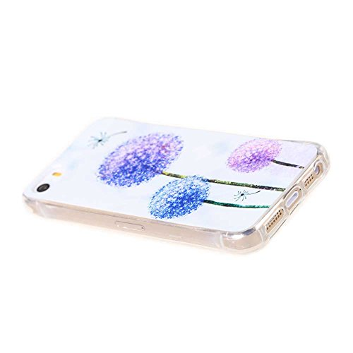 Coloré Motif Souple TPU Etui Housse de Protection Coque en Silicone pour iPhone SE Étui Case Cover (02#)