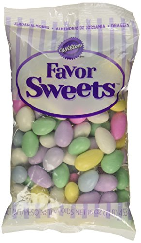 Wilton Assorted Jordan Decorative Almonds, (Almonds Favor)
