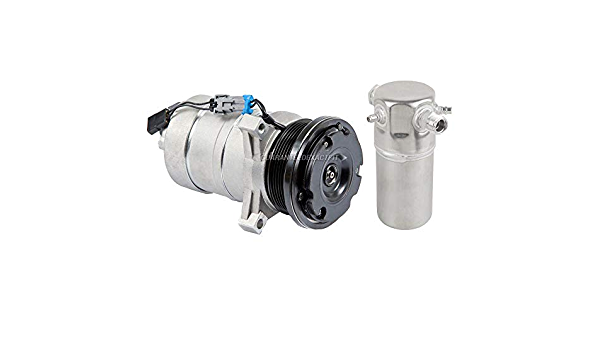 For Chevy G10 G20 G30 GMC G1500 G2500 G3500 1995 AC Compressor w//A//C Drier BuyAutoParts 60-88630R2 New