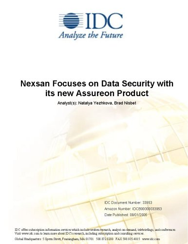 Nexsan Focuses on Data Security with its new Assureon Product Stephen Minton and Brad Nisbet