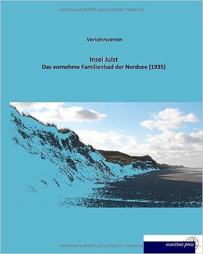 Book Insel Juist: Das vornehme Familienbad der Nordsee (1935)