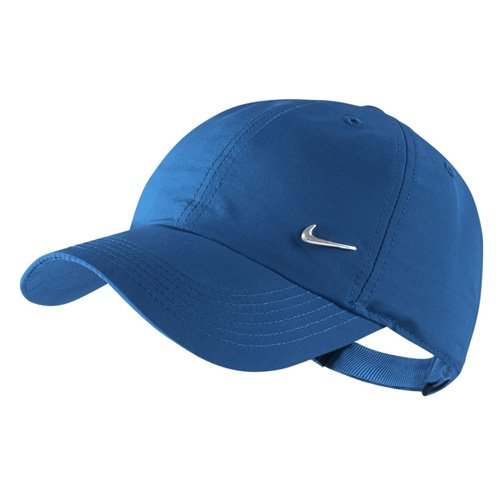 Nike Y H86 Metal Swoosh Gorro, Unisex niños, Rosa Vivid/Blanco/Plata Metalizada, Talla Única: Amazon.es: Deportes y aire libre