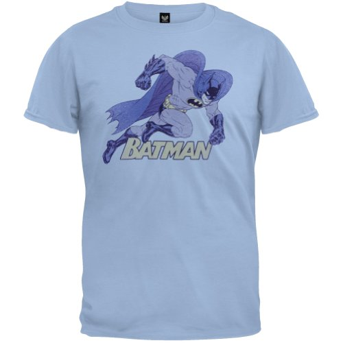 Batman+Retro+Shirts Products : Batman - Running Retro T-Shirt