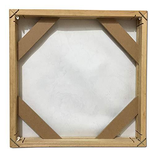 Amazon.com: Marco de madera para pared, lienzo, pintura al ...