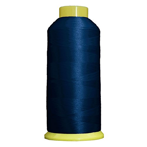 Threadart Large Polyester Thread No. 232 - Blue Ribbon- 5000 M ()
