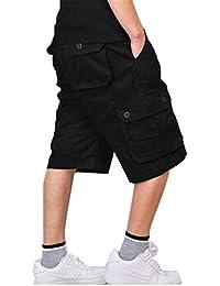 Congs Men's Survivor Outdoor MILITARY Cotton Cargo Short Pants