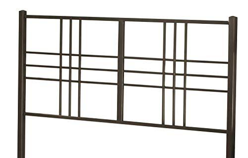 Hillsdale Furniture 2089-370 Manhattan Headboard Without Frame Twin Dark Pewter