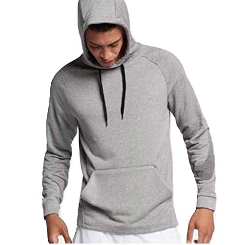 Nike Men's Dri Fit French Terry Pullover Training Hoodie (XX-Large) (Terry Pullover Nike)