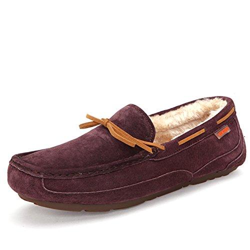 Automne hiver bean chaussures/ Ajouter un Cachemire chaussures/Version coréenne de la tendance des chaussures de sport G dY2UR