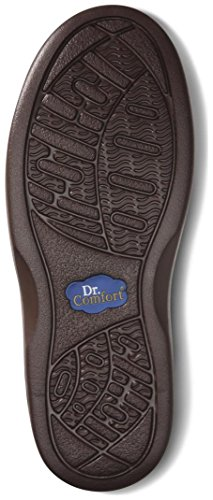 Dr. Comfort Maggy Women's Therapeutic Diabetic Extra Depth Shoe: Chestnut 8 X-Wide (E-2E) Velcro by Dr. Comfort (Image #2)