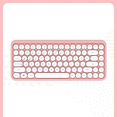 Color : D JIASHANHAO Wireless Bluetooth Keyboard Phone Laptop Keyboard Girl Cute Pink Office Convenient Typing