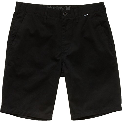 Hurley Men's One and Only Chino Short, Black, 32