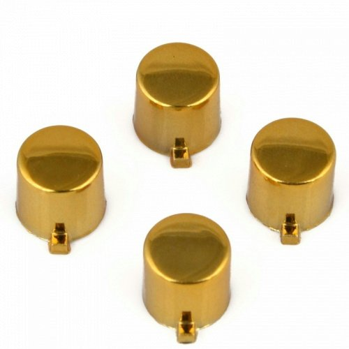 ModFreakz™ 4 Button Set Chrome Gold Fits All PS4/PS3 ()