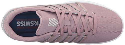 K-Swiss Womens Court Pro II SP CMF Fashion Sneaker Deauville Mauve/Frost Gray/White 7UGWUsp
