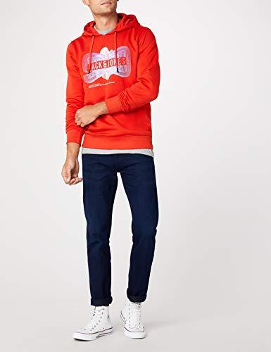 poinciana Jones Orange Fit Homme Shirt Jcopaul amp; reg Jack Mix Pack Sweat Tn5Aqzn4Ux