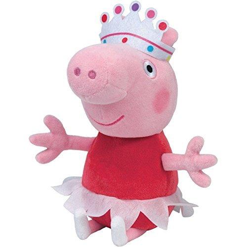 Ty Beanie Babies - Ballerina Peppa (Peppa Pig Beanie Baby)