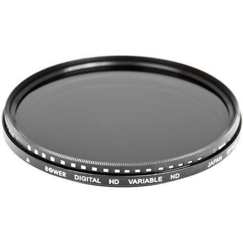 Bower FN77 Variable Neutral Density Filter 77 mm (Black)
