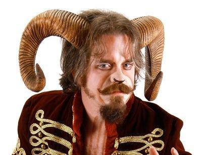 [elope Ram Horns] (Male Sheep Costume)