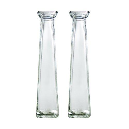 Tapered Glass Vase - 4