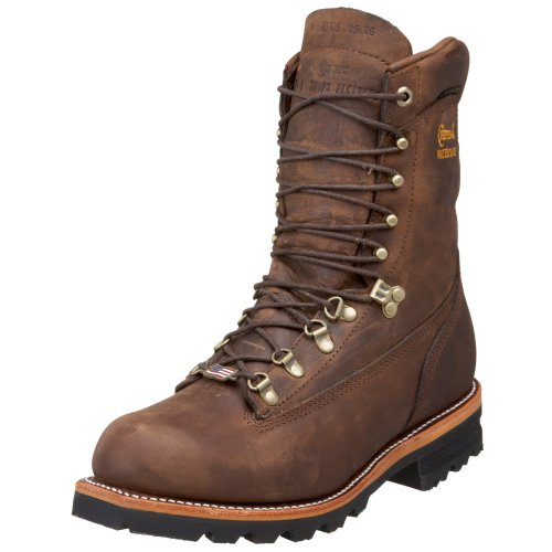 "Chippewa Men's 9"" Waterproof Insulated Arctic 50 25492 Boot,BayApache,11 E US"