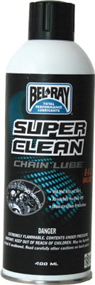 Bel-Ray Super Clean Chain Lube - 400ml. Aerosol 99470-A400W (1)
