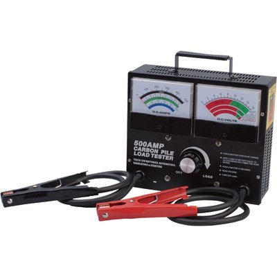 Ironton Battery/Carbon Pile Load Tester - 500 Amp
