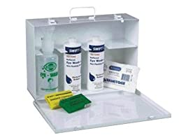 Honeywell 242020 Swift First Aid Emergency Eye Wash Cabinet For Emergency Eye Wash Station (1/EA)