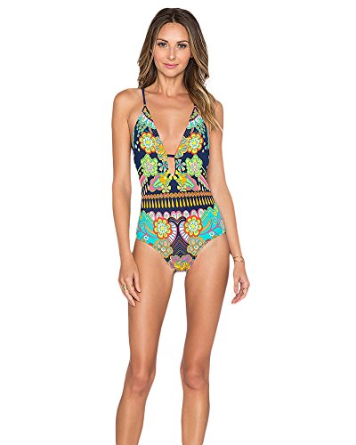 Interi Costumi Costumi Piscina Da In Come Push Donna Beachwear Bagno Trikini immagine Up pqXBIq