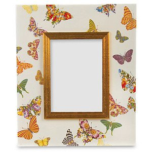 MacKenzie-Childs Butterfly Garden 4'' X 6'' Frame, Brand New, 100% Authentic. by MacKenzie-Childs