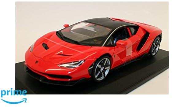 Amazon Com Maisto Lamborghini Centenario Red 1 18 Scale Diecast