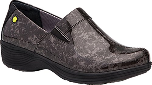 Work Wonders by Dansko Women's Coral Grey Marble Shoe (Dansko Shoes For Women Grey)