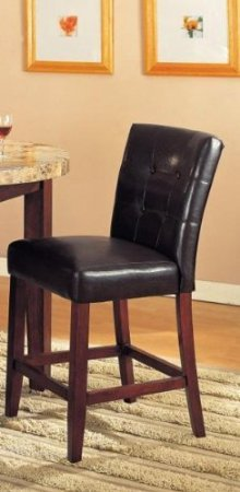 Bycast Counter Height 24H Chair in Brown by Acme Furniture