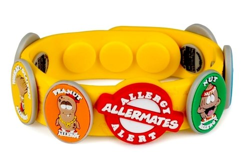 Allergy/Health Alert Wristband Without EpiPen Charm by Allermates (Image #1)