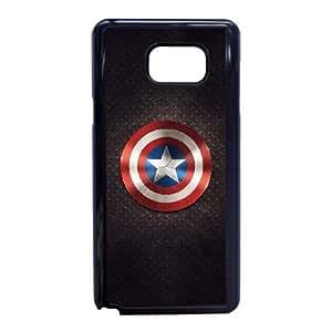 Samsung Galaxy Note 5 Phone Case Black captain americ VMN8189014