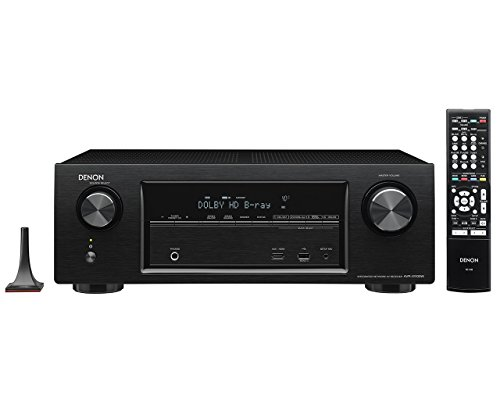 Denon AVR-X1100W 7.2 Channel Full 4K Ultra HD AV Receiver wi